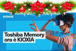 A Natale la tecnologia riscopre il colore con le schede di memoria Kioxia Exceria!