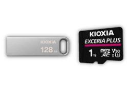 KIOXIA Europe lancia le nuove chiavette USB TransMemory U366 ed espande la gamma di schede di memoria microSD EXCERIA PLUS